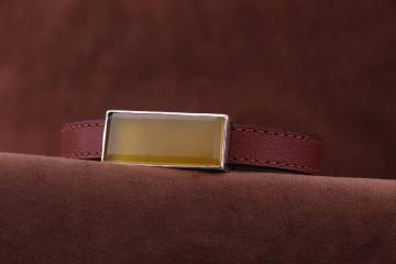 دستبند چرمی زنانه شرف الشمس