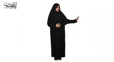 چادر ملی زنانه مات ساده درجه1