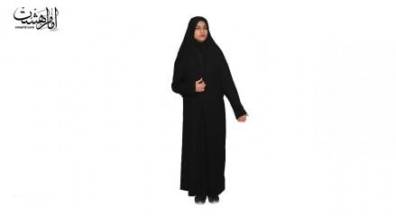 چادر ملی زنانه کن کن ساده درجه1