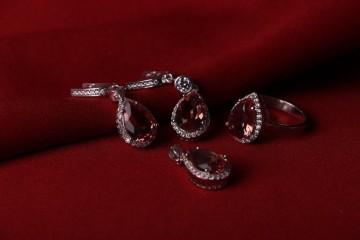 نیم ست جواهری الکساندریت