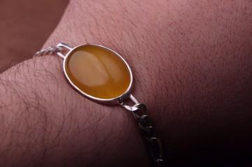 دستبند نقره شرف شمس
