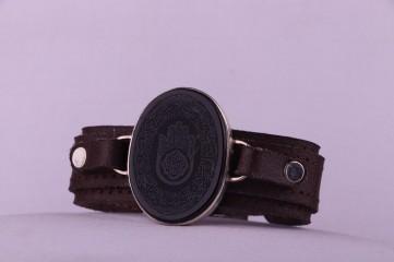 دستبند عقیق مشکی