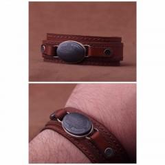 دستبند حدید صینی خطی