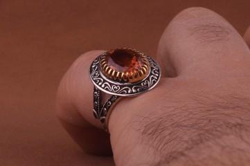 انگشتر الکساندریت هفت رنگ