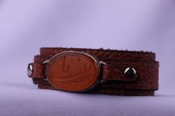 دستبند عقیق هندی اصل