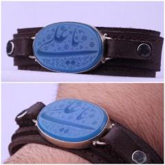 دستبند عقیق_ابی